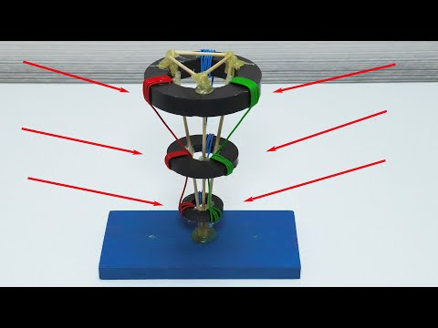 Free energy on the gravity of the ether. Magnetic electricity catcher.