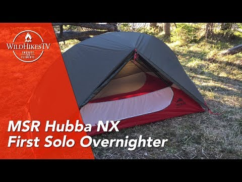 Solo Overnighter - MSR Hubba NX