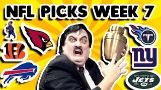 NFL Week 7 Picks Against The Spread 2018