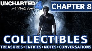Video Uncharted 4 - Chapter 8 All Collectible Locations, Treasures, Journal Entries, Notes, Conversations download MP3, 3GP, MP4, WEBM, AVI, FLV Juli 2018