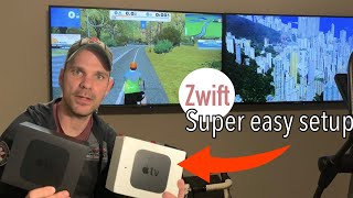Is Apple TV the best Zwift Setup?