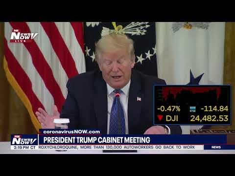 FULL MEETING: President Trump Cabinet meeting as states begin reopening
