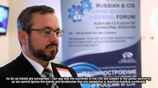 V Mikhailov, IT Enterprise at Russian Machine-building Forum