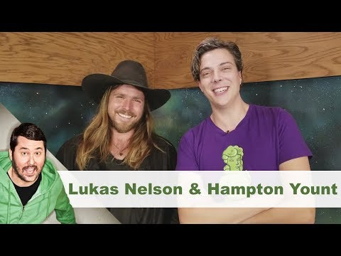 Post-Sesh Interview w/ Lukas Nelson & Hampton Yount | Getting Doug with High