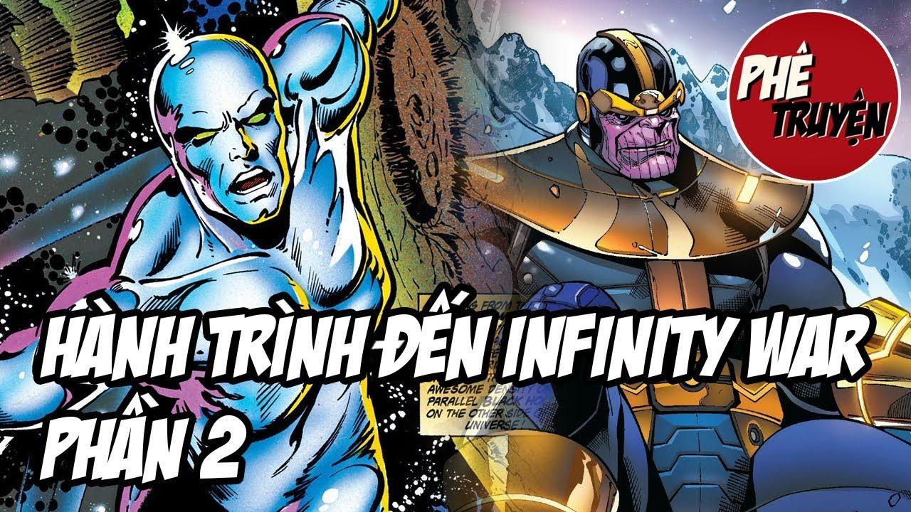 Hành trình đến Infinity War #2: Silver Surfer & Thanos Quest