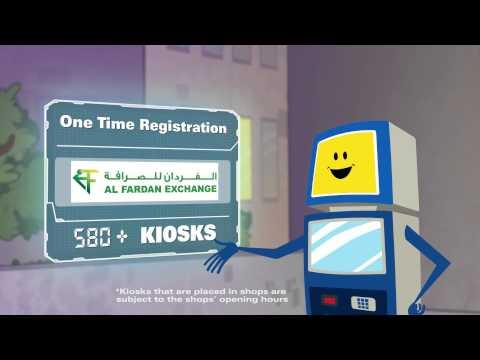 Al Fardan Exchange And Western Union Kiosk Service In UAE