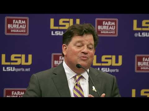 Highlights from new LSU athletic director Scott Woodward's introductory press conference