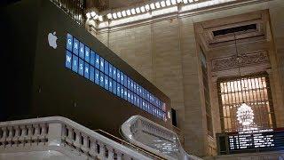 Apple Grand Central — Digital Pre-Opening Barricade (2011)