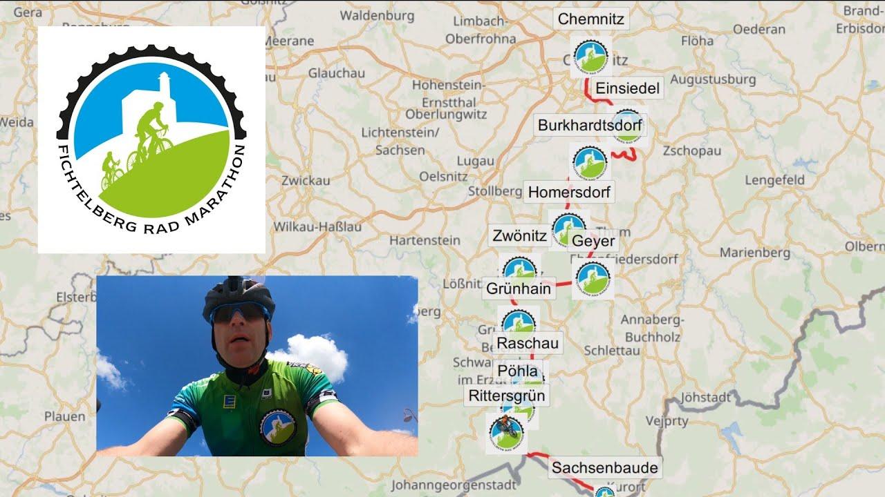Fichtelberg Radmarathon  2021 - Streckenvorstellung