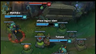 """League of Legends * One for all mode * 5 Teemo VS 5 Teemo """"Just"""