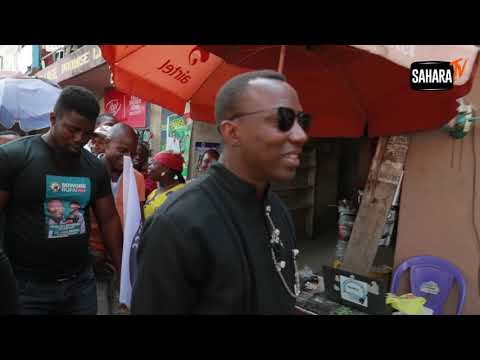 Hurricane Sowore Hits The Markets of Onitsha