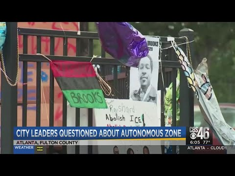 Autonomous zone in Atlanta is being run by a gang connected to shooting murder of 8-year-old girl, police say