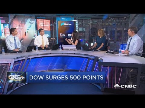Stocks surge after
