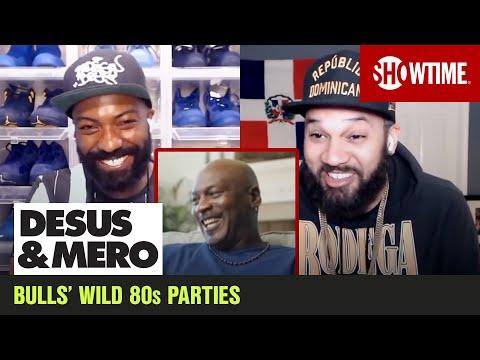 Michael Jordan Cracks Up Over &39;Bulls Traveling Cocaine Circus&39;  DESUS & MERO  SHOWTIME