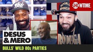 Michael Jordan Cracks Up Over 'Bulls Traveling Cocaine Circus'   DESUS & MERO   SHOWTIME