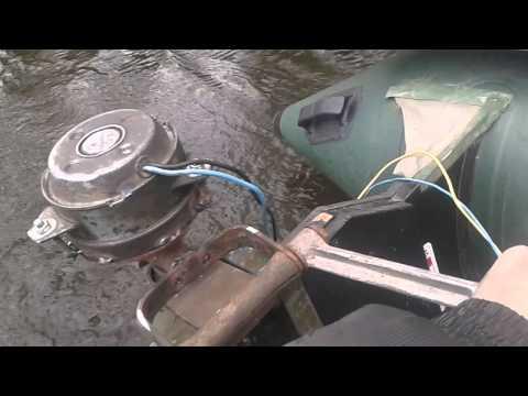 супер электродвигатель для лодки своими руками