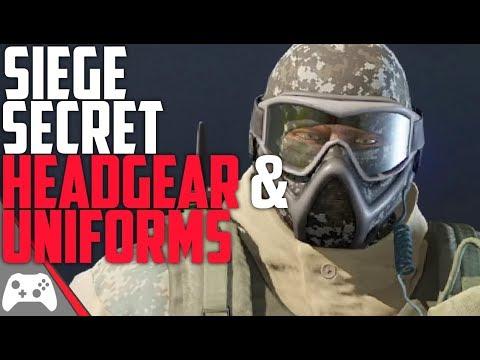 Secret/Unreleased Headgear And Uniforms! | Rainbow Six Siege Leaked Headgear & Uniforms