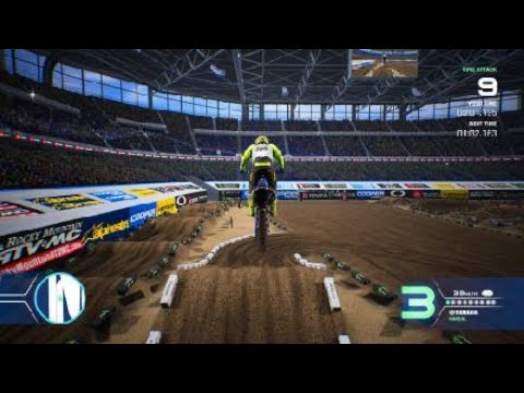 Monster Energy Supercross - The Official Videogame 4 Lightning  Sx |