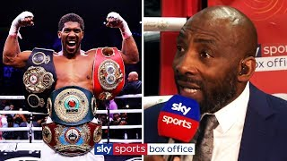 Are Anthony Joshua's demons behind him? | Carl Froch, George Groves & Johnny Nelson