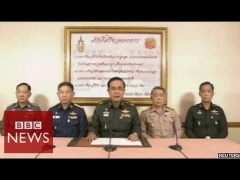 Thai military seizes power in coup - BBC News