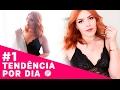 COMO USAR LINGERIE NOS LOOKS - TOP DE RENDA - #1TendênciaPorDia - Adriana Alfaro
