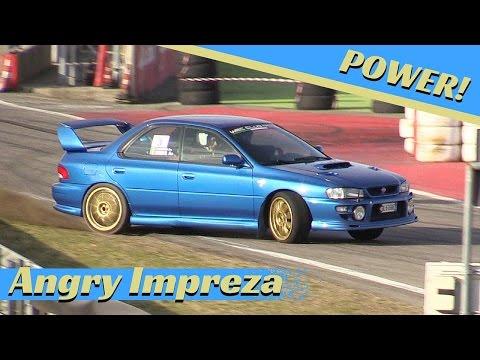 Angry Subaru Impreza - SUPER POWER - Action & Pure Sound!