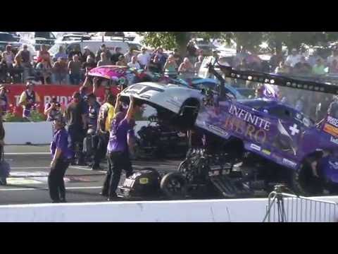 2016 NHRA - Funny Car Qualifying - Friday - Englishtown NJ