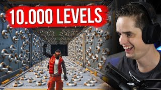 10.000 LEVEL DEATHRUN! - Fortnite Creative