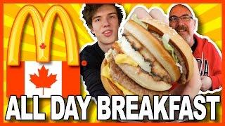 ALL DAY BREAKFAST at McDonald's CANADA #AllDayBreakfast