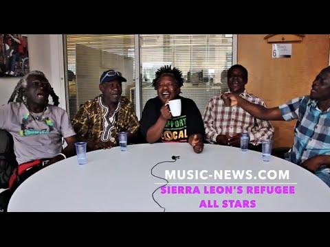 Sierra Leone's Refugee All Stars I Live Session I Music-News.com