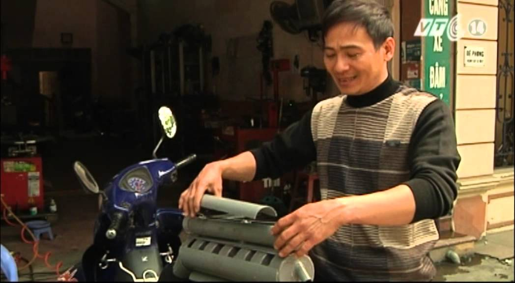 VTC14-Ống xả xe máy -2 trong 1-