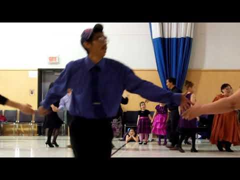 Quaqtaq. Christmas dancing. December 27, 2014