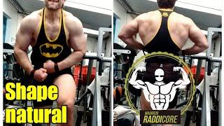 Shape natural 1,80m 98kg 16/06/2018🥇 RADDICORE