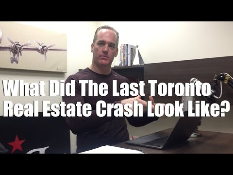 What Did The Last Toronto Real Estate Crash Look Like?