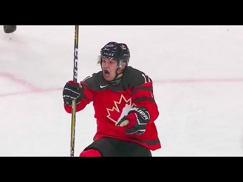 All Canada goals WJC 2018