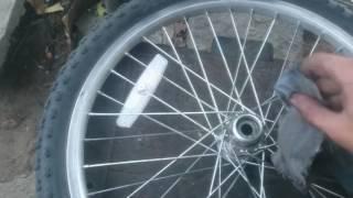 Video Como cambiar bolilleros o rulemanes de rueda trasera de bicicleta. download MP3, 3GP, MP4, WEBM, AVI, FLV Juli 2018