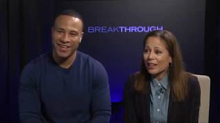 "Filmmakers Behind ""Breakthrough""  - DeVon Franklin & Roxann Dawson"