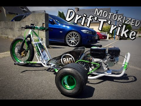 how to build drift trike wheels