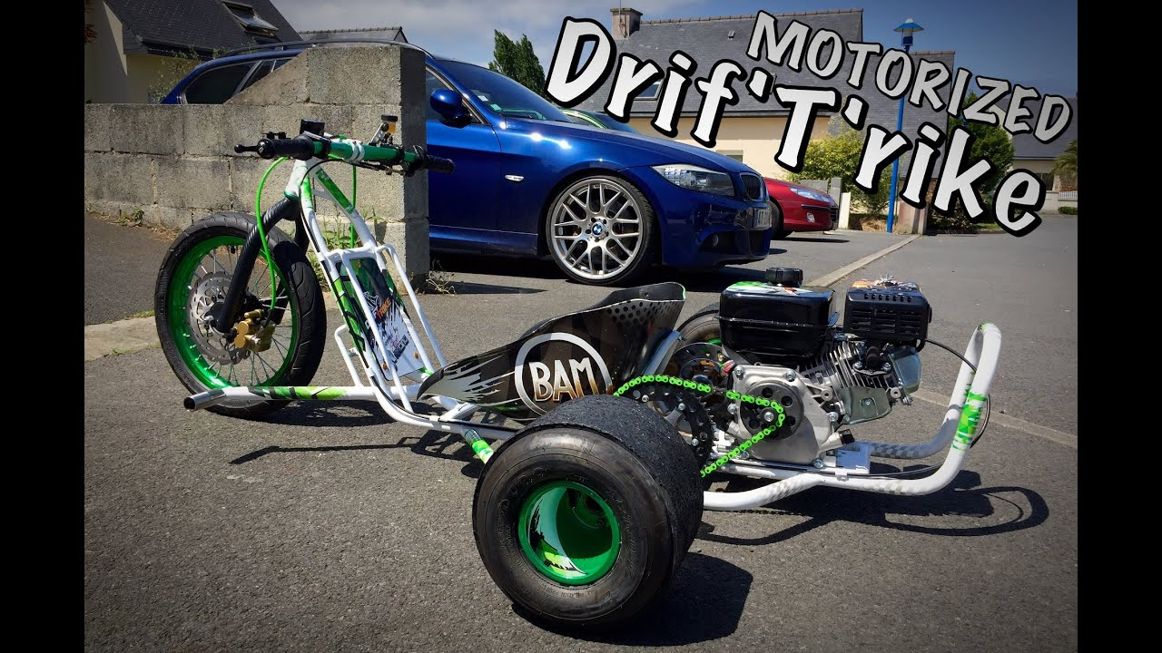 Mk Motorized Drift Trike Acrobike S 22 Powered By