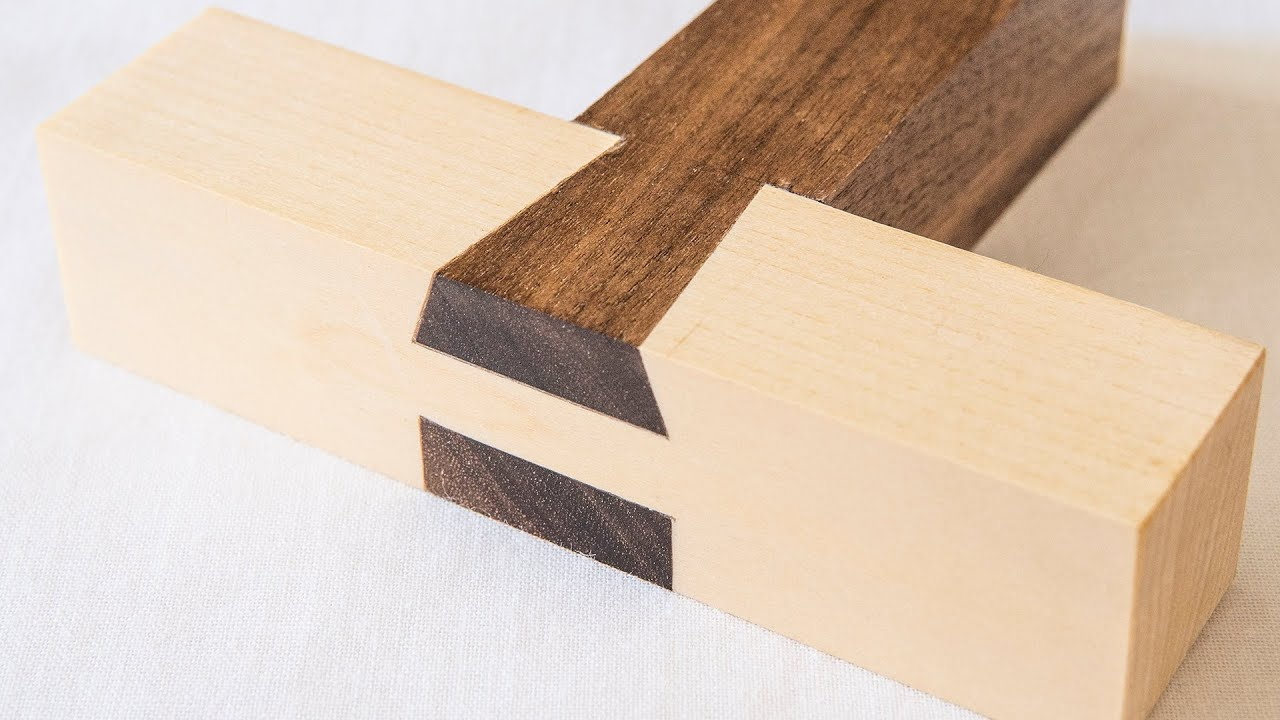 Download Double Tenon with Rising Dovetail Wood Joint