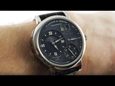 A. Lange \u0026 Sohne Grand Lange 1 Moonphase Lumen (139.035F) Luxury Watch Review