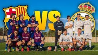 BARCELONA VS REAL MADRID ¡¡EL CLÁSICO!! PARTIDO FÚTBOL