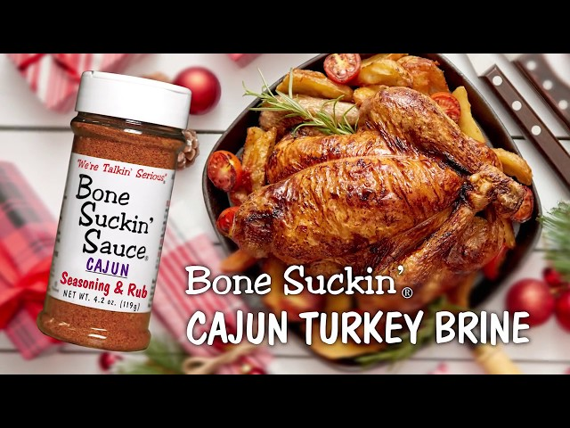 Bone Suckin'® Cajun Turkey Brine