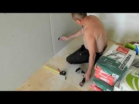Монтаж гипсокартона на кривые стены