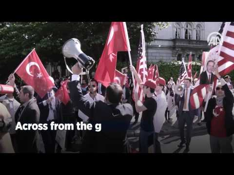 What really happened in front of the Turkish Embassy in Washington?