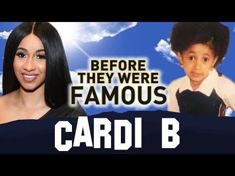 CARDI B - Before They Were Famous - BODAK...