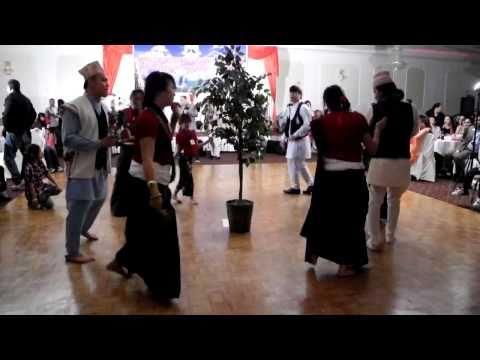 Chandi Naach In Toronto (Nepali New Year 2068 In Canada) Saakelaasili