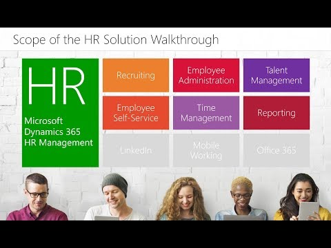 Walkthrough HR Management For Microsoft Dynamics 365