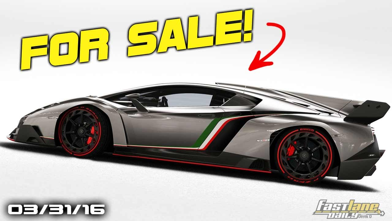 Lamborghini Veneno For Sale >> First Lamborghini Veneno For Sale Chevrolet Ss Successor Volvo Xc90 Excellence Fast Lane Daily