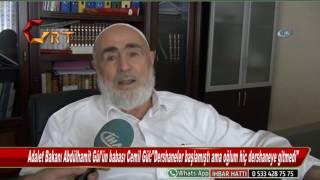 Adalet Bakanı Abdülhamit Gül'ün babası Cemil Gül